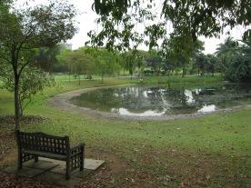 A quiet spot in the Botanic Gardens