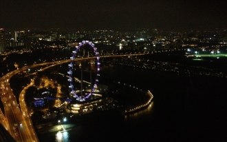 The view from the MBS Sky Garden