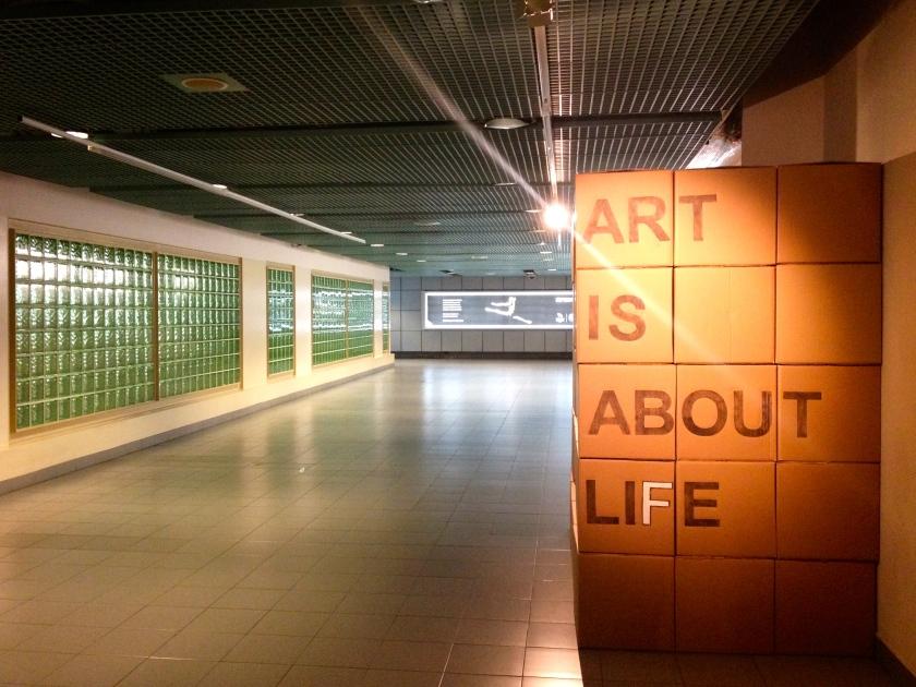 OTW to the Esplanade MRT