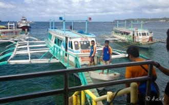 Banca to Boracay island