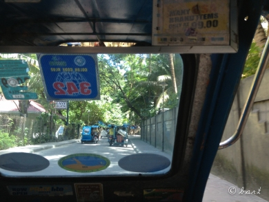 The tricycle ride to D'Talipapa