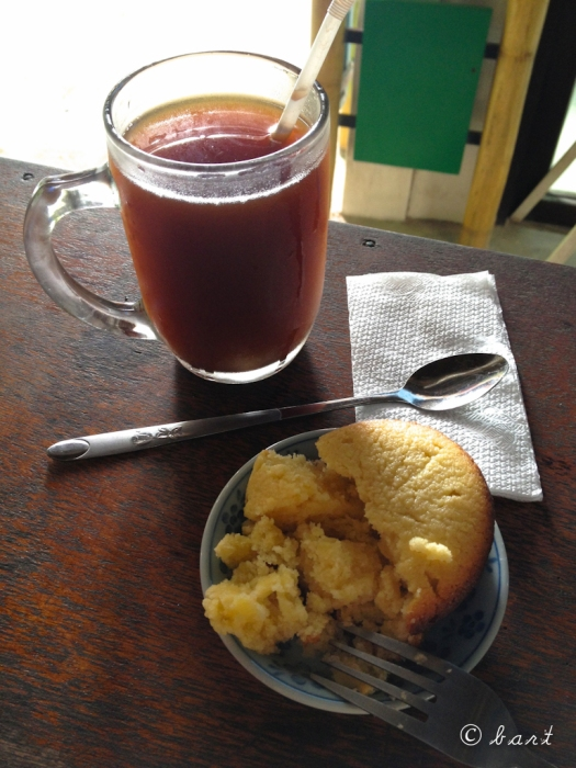 Real Coffee's iced coffee & calamansi muffin