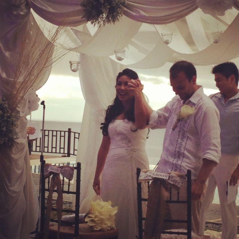 The newlyweds <3