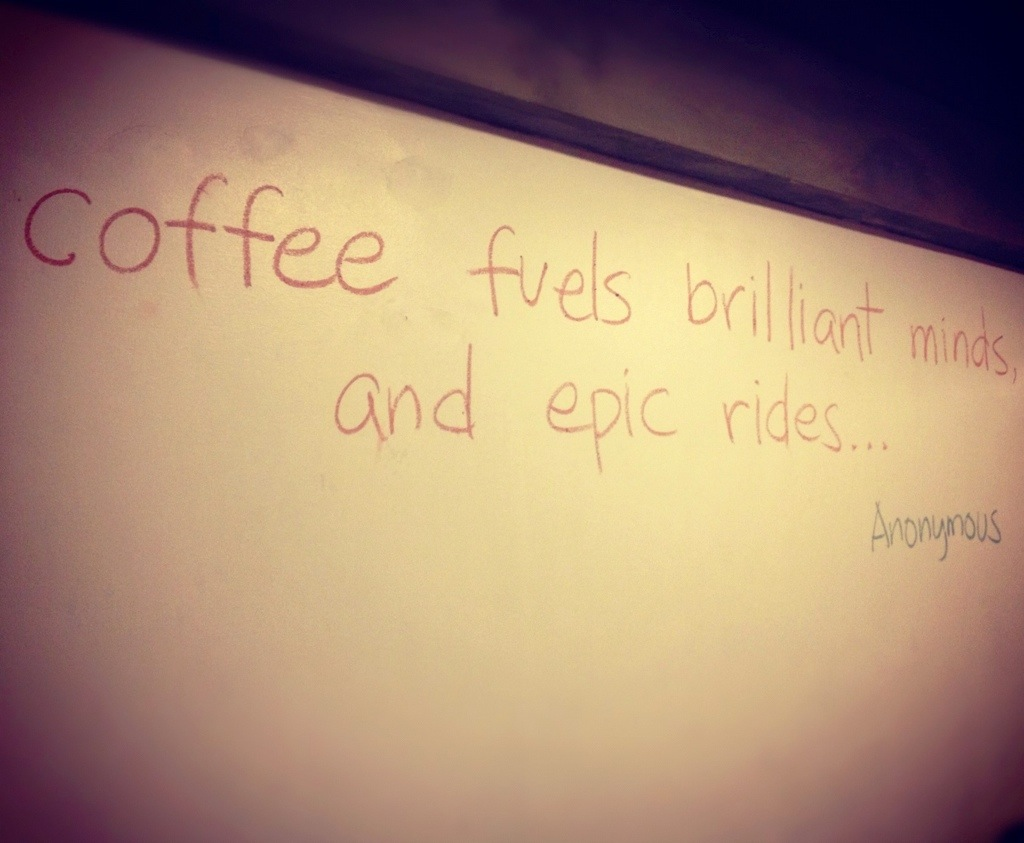 Love This Quote I Found In A New Coffee Shop Near My Former Office U003c3