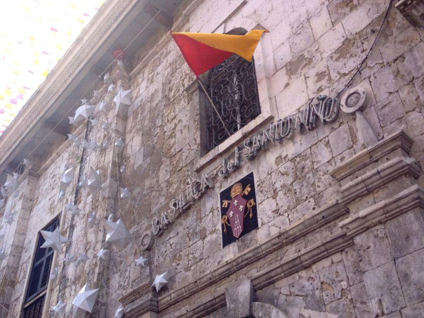 The Basilica del Santo Nino