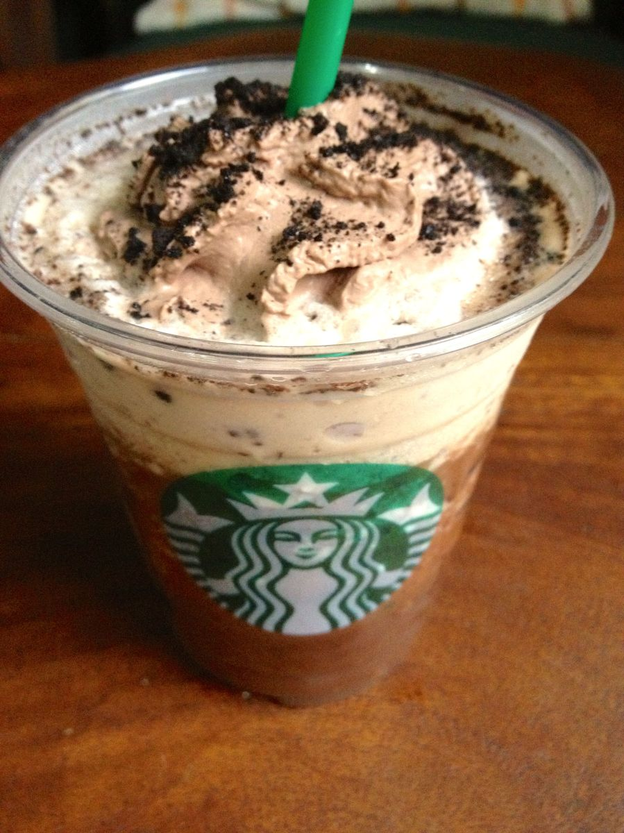 Starbucks Mocha Cookie Crumble Frappuccino