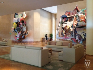 Moby Dick Series, Frank Stella [The Ritz-Carlton, Millenia]