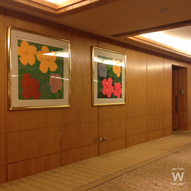 Poppy, Andy Warhol [The Ritz-Carlton, Millenia]