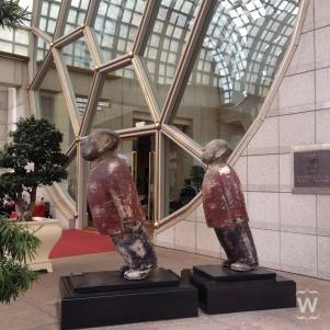 Mao figures, Zhu Wei [The Ritz-Carlton, Millenia]