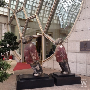 Mao figures, Zhu Wei [The Ritz-Carlton, Millenia]