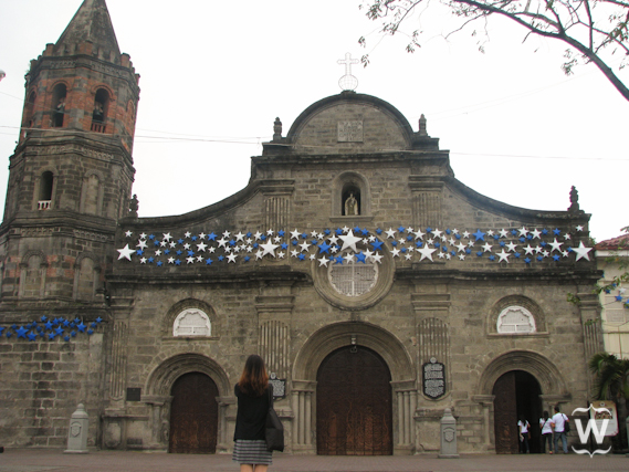 Photo of me in front of the Barasoain Church in Malolos, Bulacan (Credit: Celine Reyes)