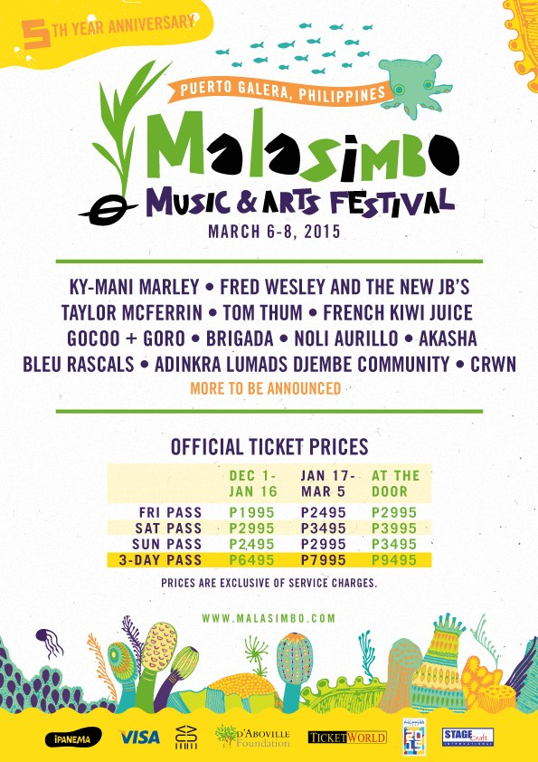 Poster courtesy of Malasimbo Music and Arts Festival