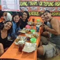 Hostel mates do nasi goreng and gudeg