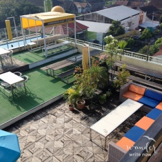 Rooftop pool and lounge areas FTW!