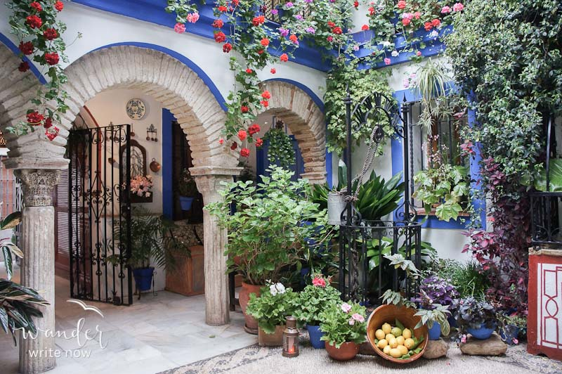 Crdoba Spain The Land Of Flowers And Friends Wander Write Now