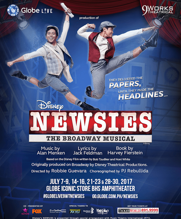Disney's Newsies Poster