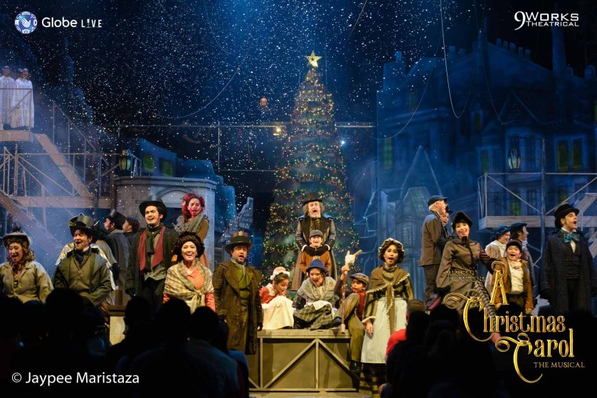 A Christmas Carol show photo by Jaypee Maristaza
