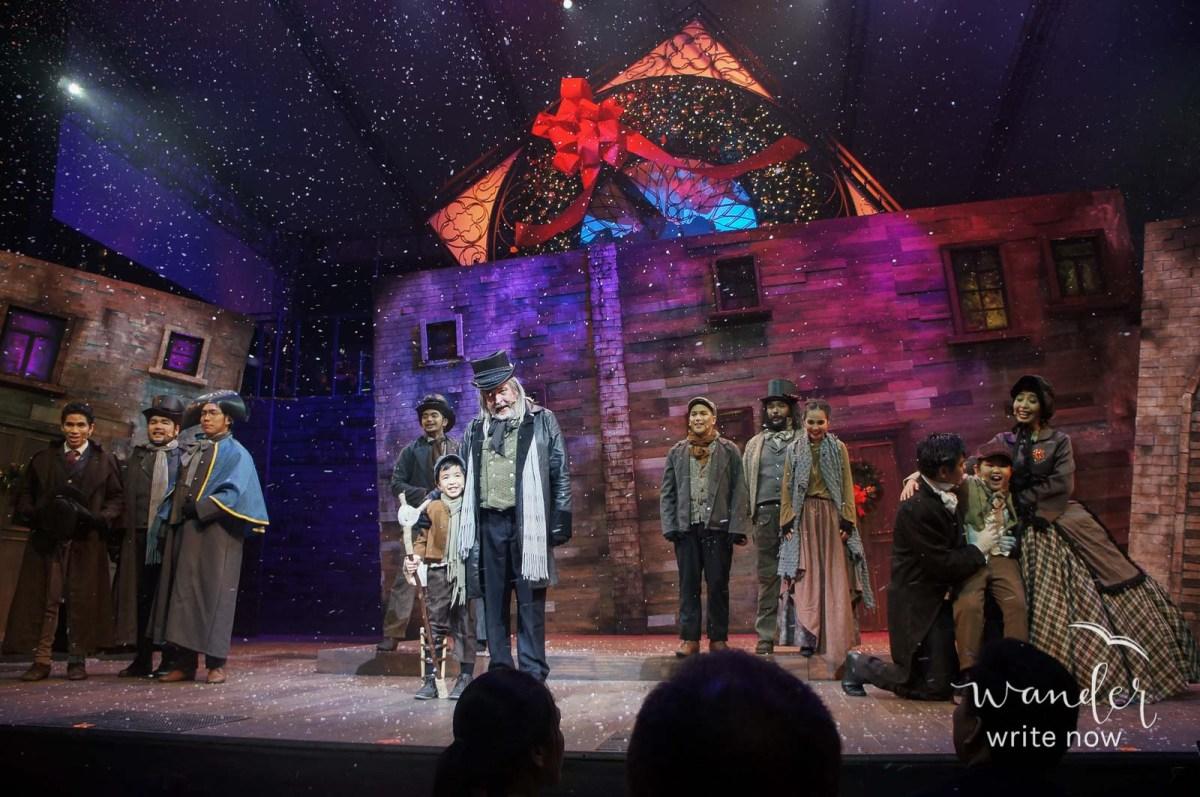Musical Review: A CHRISTMAS CAROL by Globe Live x 9 Works Theatrical